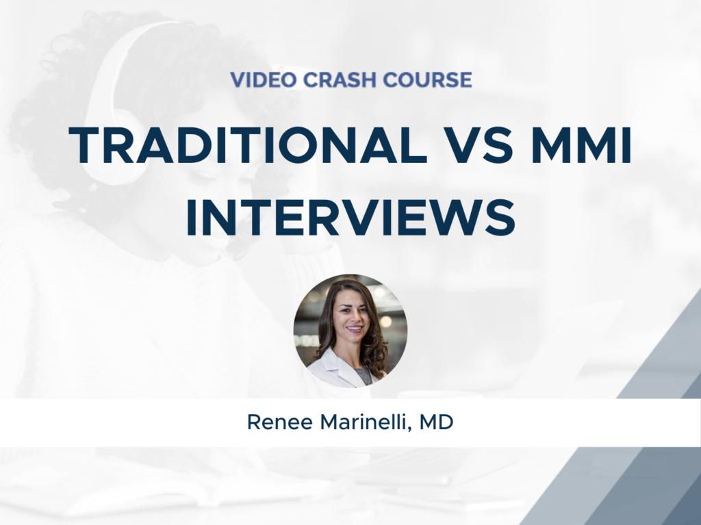 Traditional vs. MMI Interviews
